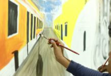 When Pondicherrians painted together for heritage
