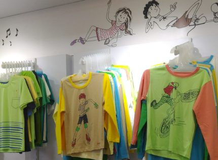 Now kids can doodle their way to cool prizes at this Pondicherry fashion store!