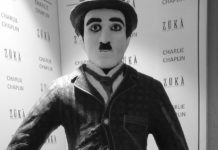 Meet this life-size Chocolate Charlie Chaplin before he melts away