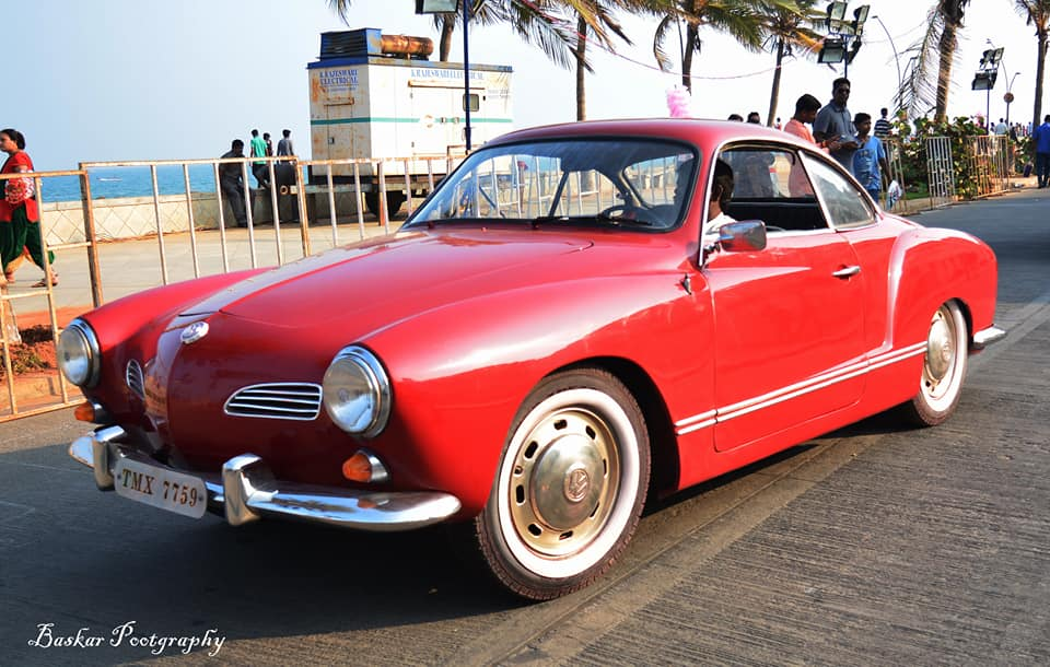 We went back to the sixties when these vintage cars rolled into Pondy!