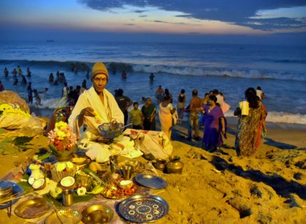 When the Gods took a trip to the seashore: Maasi Magam in Pondicherry