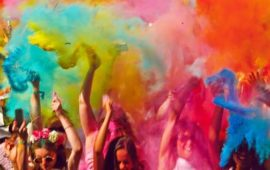 Things to do this Colorful Holi Weekend in Pondicherry