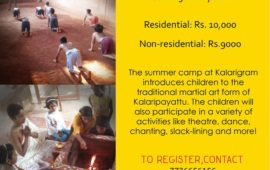 Kalaripayattu for Kids