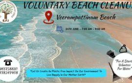 Voluntary Beach Cleanup
