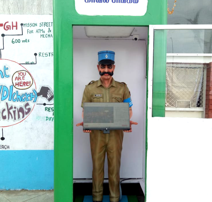 We asked Pondicherry's 'robocop' Constable Singam some questions