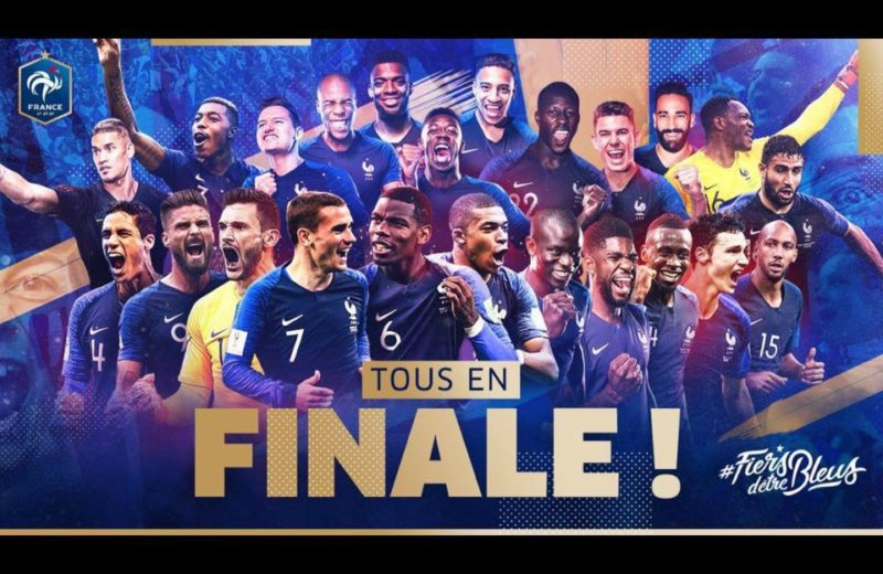 Fifa World Cup final in pondicherry where there are many French football fans