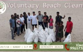 Serenity Beach Cleaning