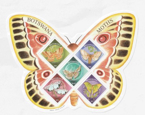 BUTTERFLY STAMP BOTSWANA