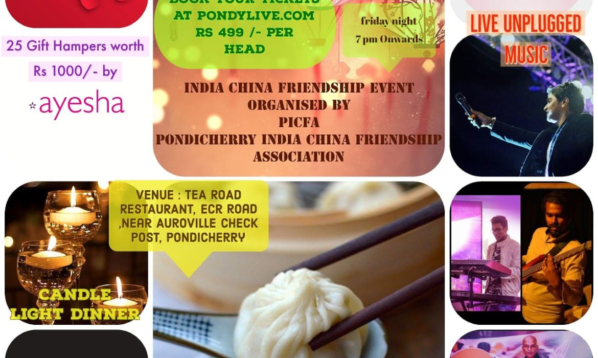 CHINESE VALENTINES DAY PONDICHERRY CANDLELIGHT DINNER AND LIVE MUSIC CONCERT