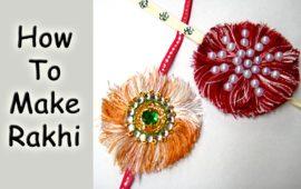 Art & Craft – Rakhi Making