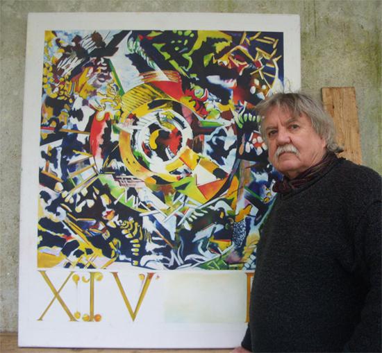 artist geoffrey with