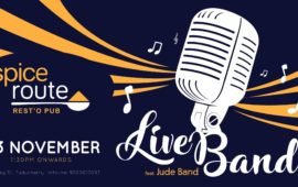 Live Music feat. Jude Band