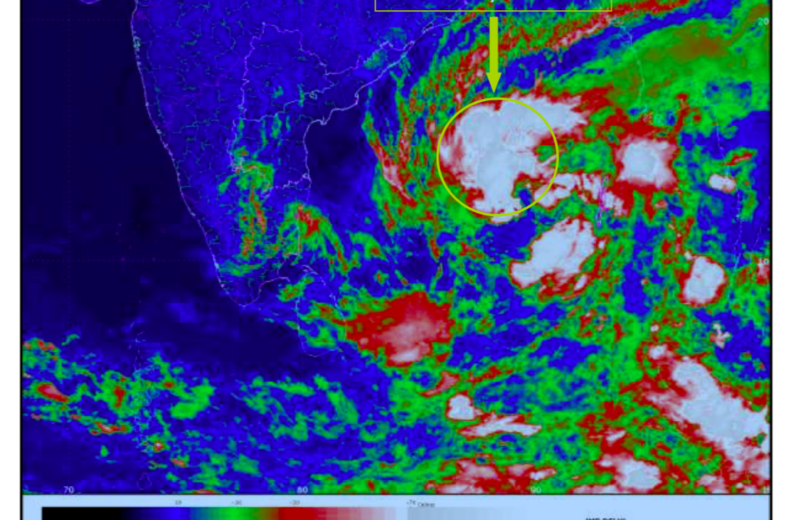 Cyclone Gaja likely to cross over puducherry and north Tamil Nadu coast and will bring heavy rains to Pondicherry