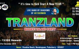 Tranzland Island Party at Paradise Beach