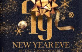 New Year Eve 2019 Celebration at Crosskeys