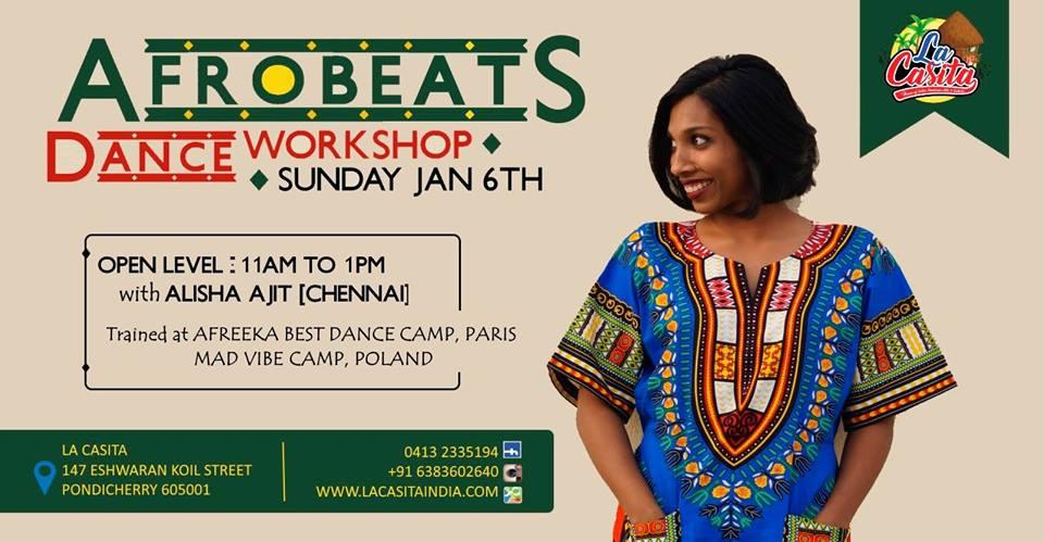 AfroBeats Workshop with Alisha