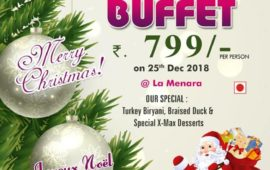 Le Royal Park_GRAND CHRISTMAS LUNCH/DINNER BUFFET