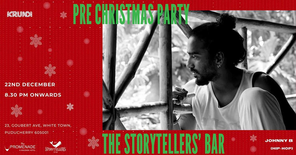 Saturdays ft Johnny B at The Storytellers Bar (Pre Xmas Party)