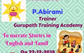 Storytime Saturday with Abirami