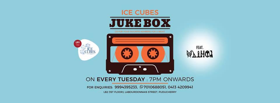 Juke Box at Ice Cubes Club