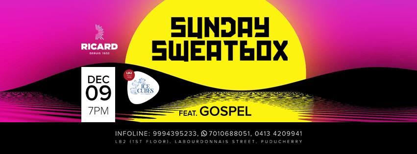 Sunday SweatBox with Gospel
