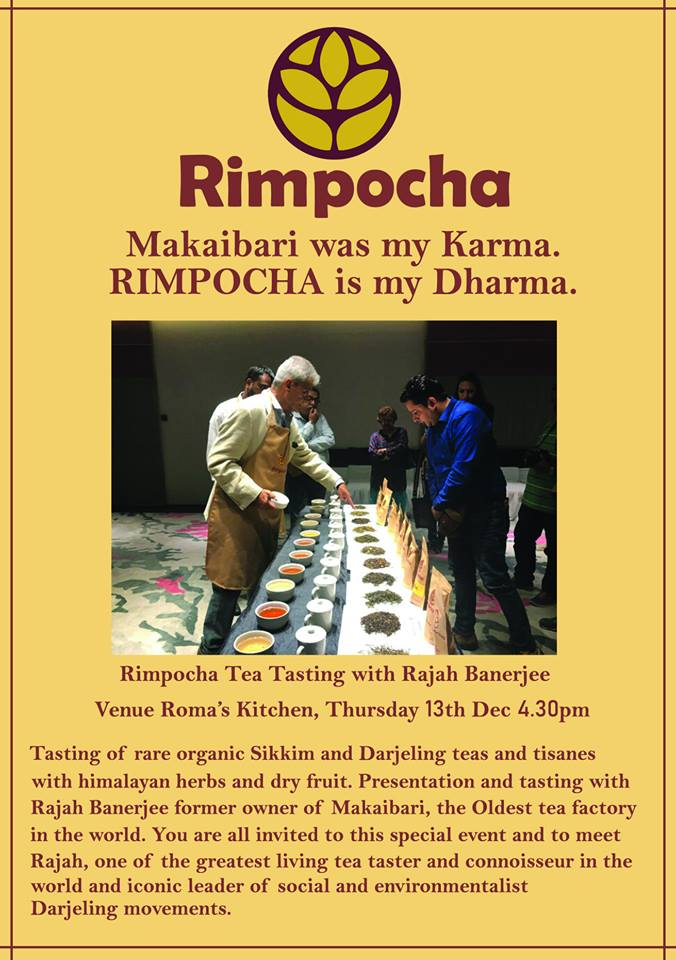 Rimpocha Tea Tasting in Auroville