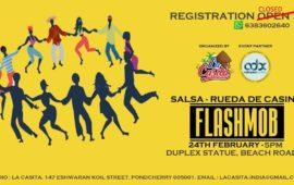 Salsa – Rueda de Casino Flashmob & Social