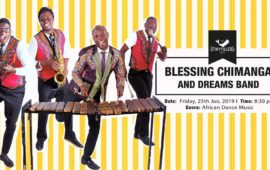 Friday Night: Blessing Chimanga & The Dreams Band