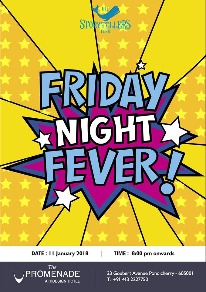 Friday Night Fever with DJ Arvinth