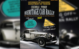 Chennai-Pondy Heritage Car Rally