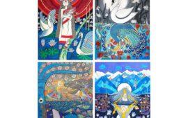 Inward- A Solo Painting Exhibition by Aparajita Barai