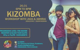 Kizomba Workshop with Jags & Abhiraj
