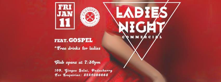 Ladies Night - Commercial, ft. Gospel on Jan 11