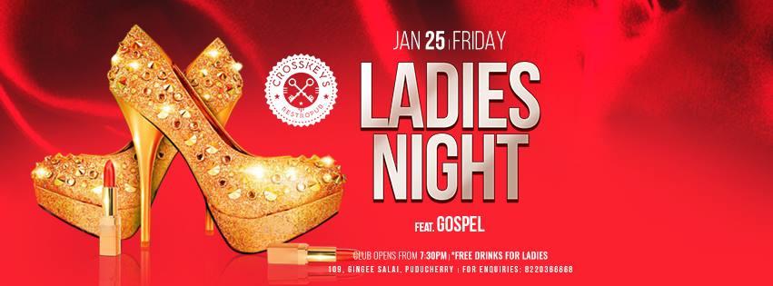 Ladies Night - Commercial, ft. Gospel on Jan 25