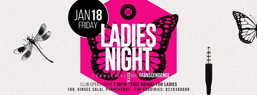 Ladies Night - Commercial, ft. Transcendence on Jan 18