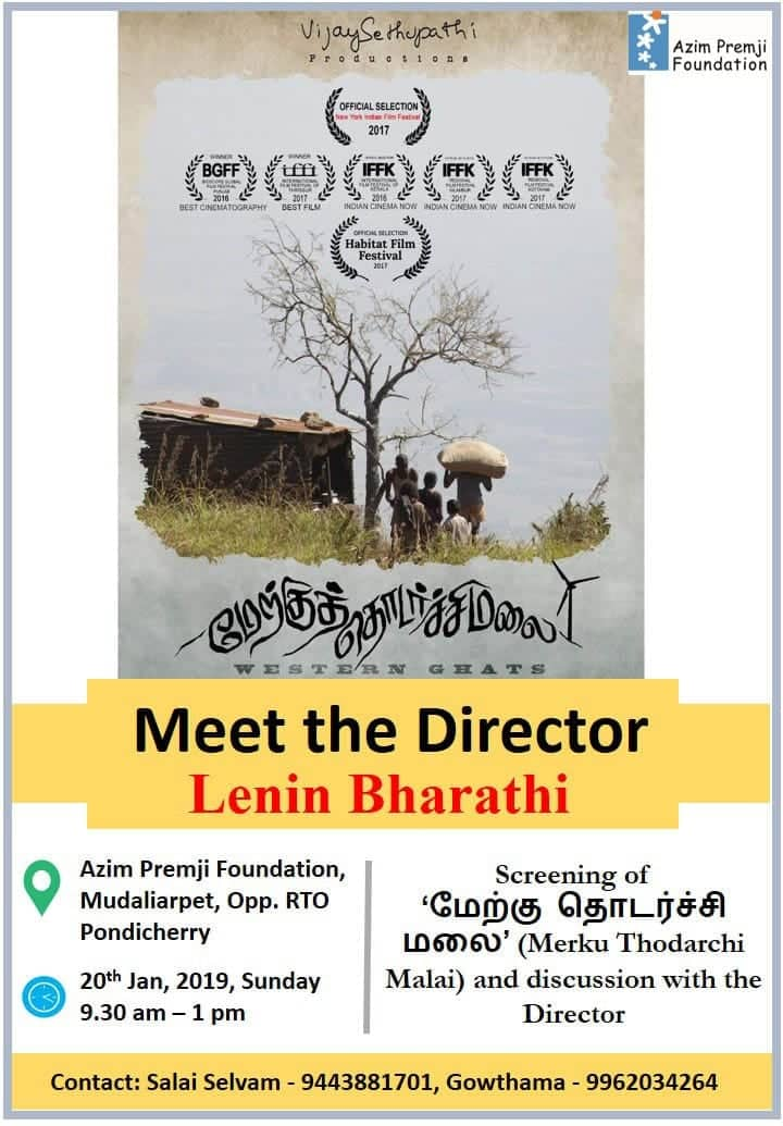 Meet the Director Lenin Bharathi