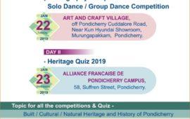 Pondicherry Heritage Festival Quiz