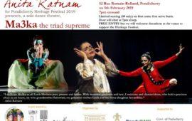 Pondicherry Heritage Festival- Anita Ratnam Ma3ka