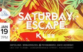 Saturday Escape with DJ KLEE