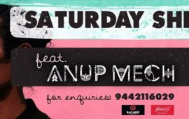 SATURDAY SHINDIG feat. Anup Mech
