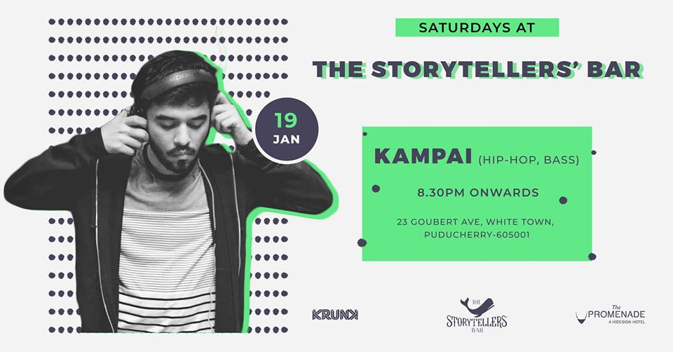 Saturdays ft Kampai at The Storytellers' Bar, Pondicherry
