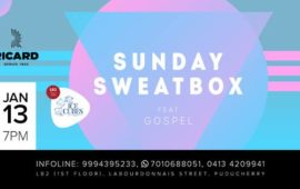 Sunday SweatBox  with DJ Gospel