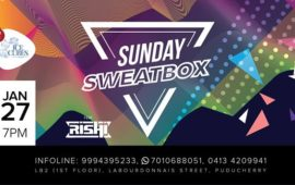 Sunday SweatBox with DJ Rishi