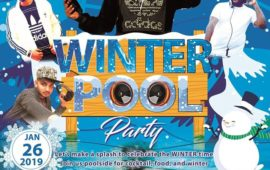 Winter Pool Party