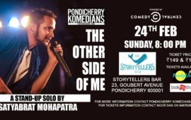 Comedy Night: The Other Side of Me: Satyabrat Mohapatra