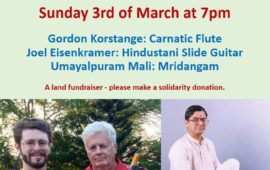 Concert of Hindustani and Carnatic Music