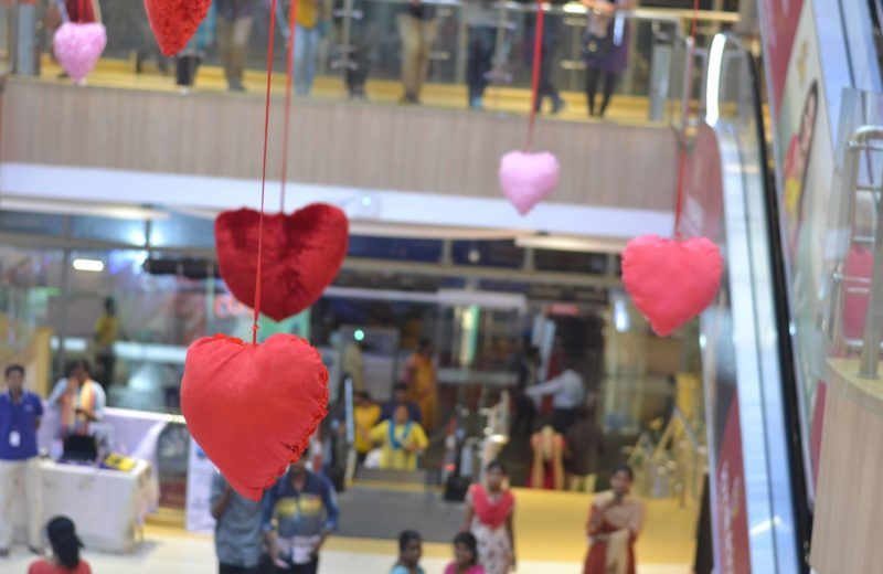 valentines day in pondicherry at providence mall this weekend in pondicherry