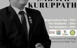 Motivational Session: Dream with Sarath Kuruppath