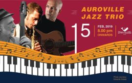 Friday Night : Auroville Jazz Trio