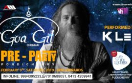 Goa Gil Pre-party with DJ KLEE